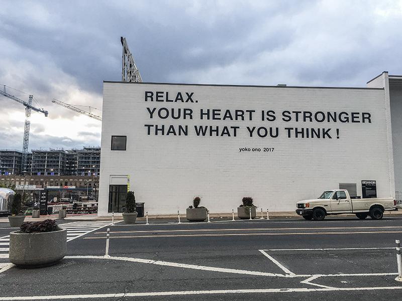 Washington, D.C. - Yoko Ono